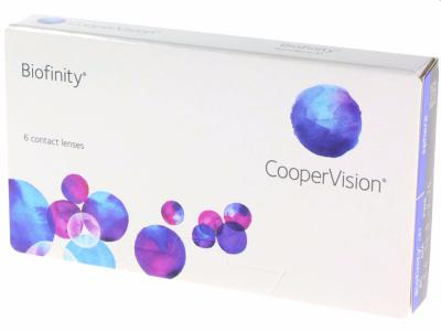 Biofinity 6 Lentilles Coopervision