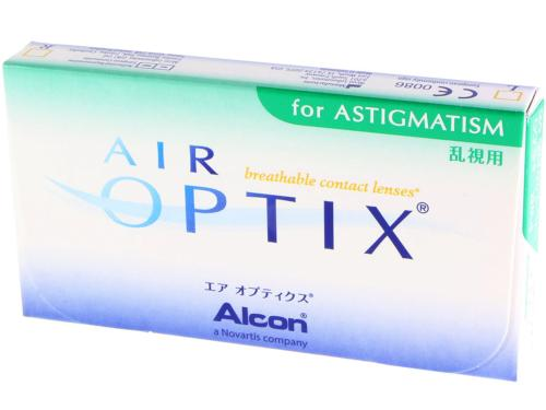 Air Optix For Astigmatism 6 Lentilles