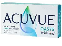 ACUVUE OASYS with TRANSITIONS 6 Lentilles JOHNSON&JOHNSON