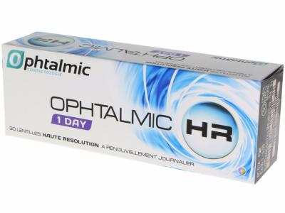 STOCK Ophtalmic HR 1 DAY x30