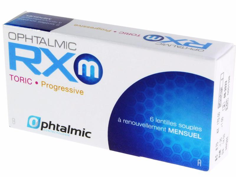 Lentilles Ophtalmic RXm TORIC Progressive 6 lentilles de contact ... 36571134be10