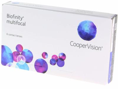 Biofinity Multifocal 6 Lentilles Coopervision