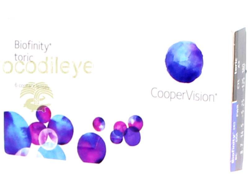 lentilles de contact coopervision biofinity toric x6. Black Bedroom Furniture Sets. Home Design Ideas