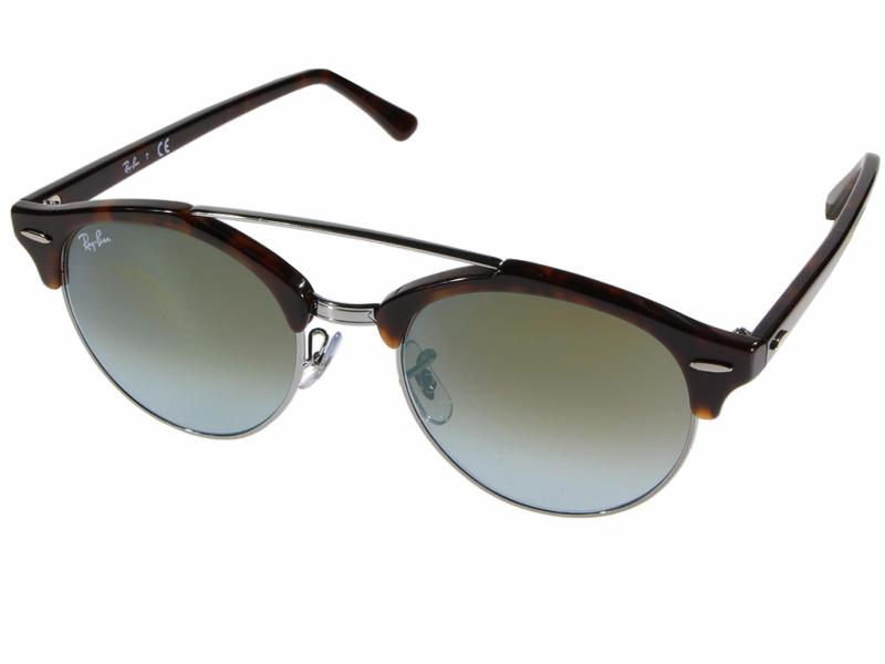 78c27b0448 RAY-BAN RB4346 CLUBROUND DOUBLEBRIDGE 62519J 51