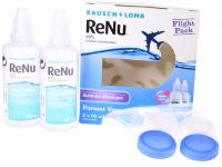 RENU Mps Flight Pack 2x60ML+ZIP-BAG BAUSCH LOMB
