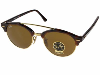 RAY-BAN RB4346 CLUBROUND DOUBLEBRIDGE 990/33 51