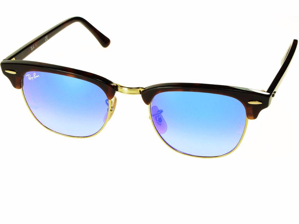 e3ee42dfef lunette de soleil RAY-BAN CLUBMASTER RB3016 990 7Q  gt  CROCODILEYE