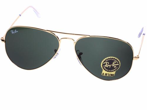 RAY-BAN RB3025 AVIATOR LARGE METAL L0205 58