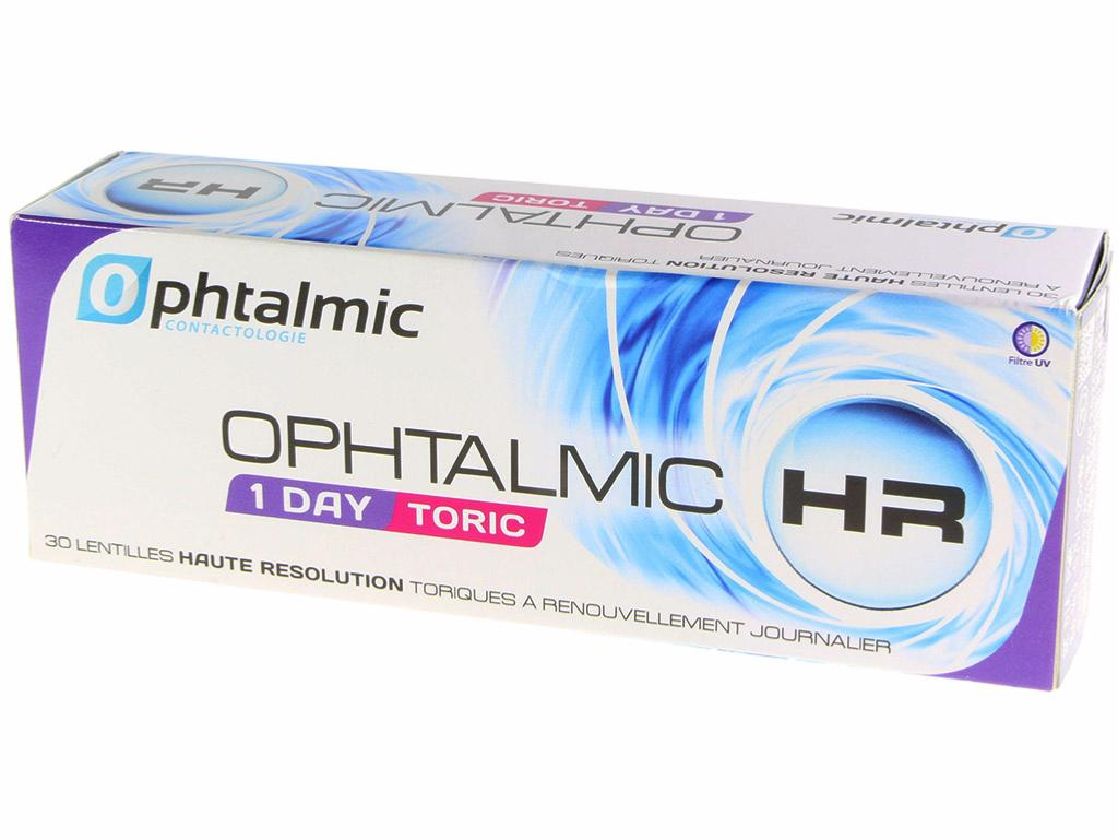 Lentilles Ophtalmic HR 1 DAY TORIC 30 Lentilles  CROCODILEYE 1e965a95b118
