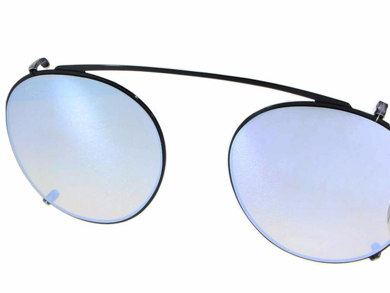 CLIP-ON de soleil RAY BAN RX2447C 2509B8  CROCODILEYE 9fed1f13b323