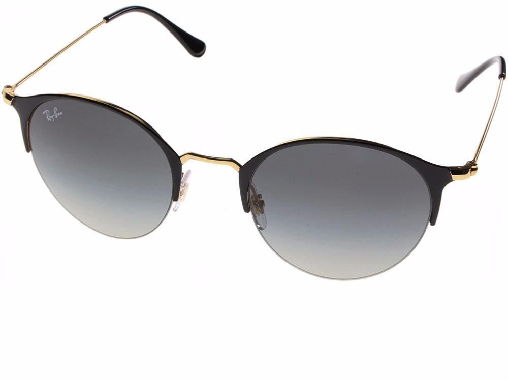 Ray-Ban RB3578 187/11 50-22 in gold top shiny black