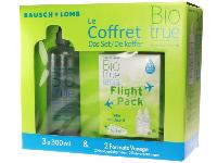 Biotrue 3x300ml + Flight Pack BAUSCH LOMB