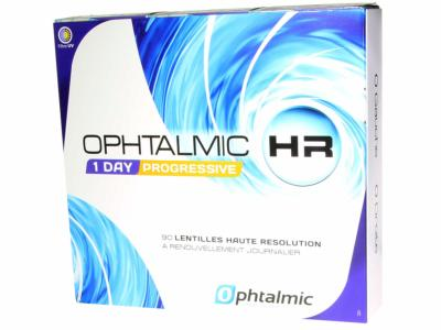 STOCK Ophtalmic HR 1 Day Progressive x90