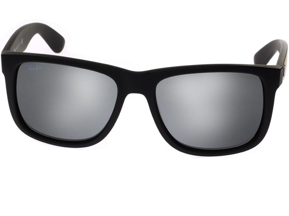 Ray Ban Justin Black RB4165 6226G 55 16 | Visiofactory