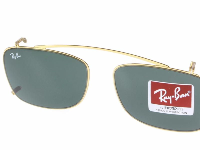 clip on de soleil ray ban rx5228c 250071 crocodileye. Black Bedroom Furniture Sets. Home Design Ideas