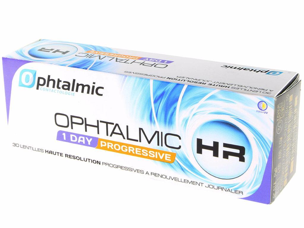 Ophtalmic HR 1 Day Progressive 30 Lentilles 4e65bde45d3c