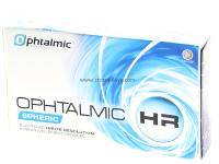 Ophtalmic HR Spheric 6 Lentilles