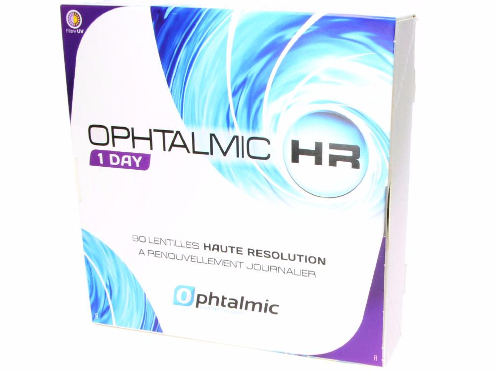 Ophtalmic HR 1 DAY 90 Lentilles de contact   CROCODILEYE cca940eca024