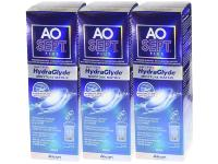 Aosept Plus HydraGlyde LOT 3X360ml ALCON