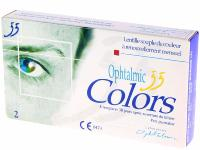 Ophtalmic 55 Colors Marine 2 Lentilles