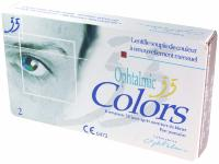 Ophtalmic 55 Colors Noisette 2 Lentilles