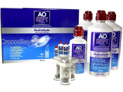 Aosept Plus HydraGlyde 3x360ml + 90ml - Pack