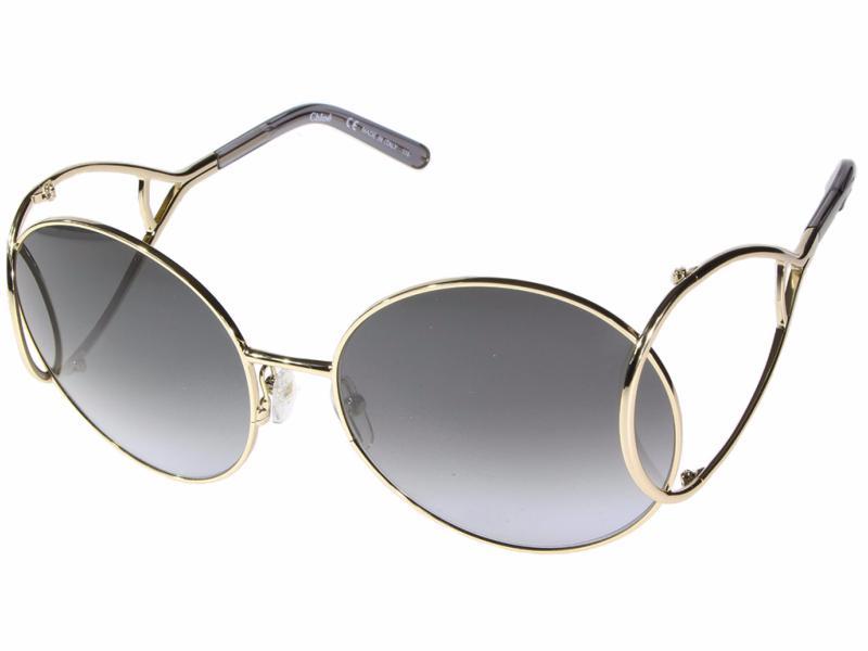 143e78402bb3b La lunette de soleil Chloé Jackson Métal CE124S 744 est en 2016 La lunette  Chloé de l année. Comme la Carlina CE114S c est une lunette ...